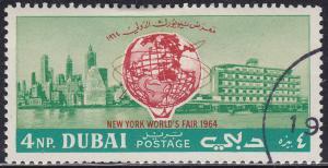 Dubai 36 CTO 1964 New York World's Fair