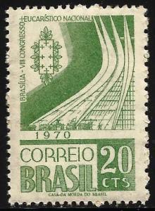 Brazil 1970 Scott# 1164 MNH