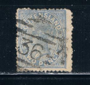 Queensland 91 Used Queen Victoria (Q0060)