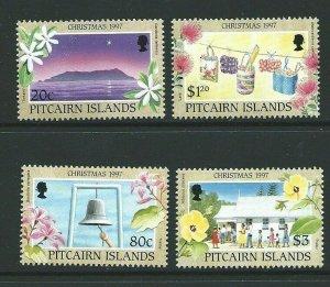 PITCAIRN ISLANDS SG522/5 1997 CHRISTMAS MNH