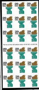 2531Ab Mint,OG,NH... Booklet Pane... SCV $11.00