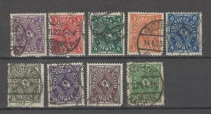 COLLECTION LOT # 4490 GERMANY 9 STAMPS 1922+ CV+$20