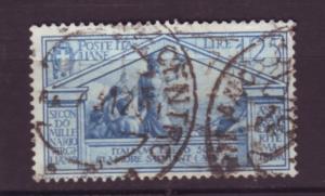 J20078  jlstamps 1930  italy a hv of set used #254 design