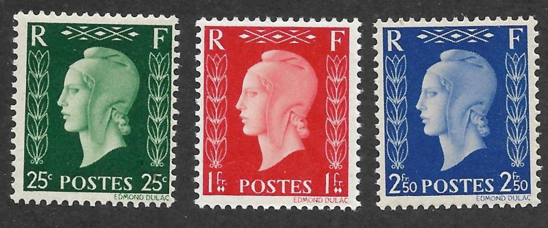 Doyle's_Stamps: WWII Free French Government Issues