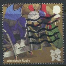 Great Britain SG 3198 SC# 2920 Oylmpics Rugby Used  see scan