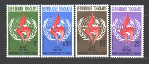 Togo. 1963. 381-84. 15 years of the adoption of the declaration of human righ...