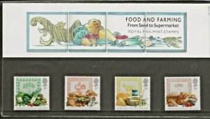 1989 FOOD & FARMING FROM SEED TO SUPERMARKET  PRESENTATION PACK 197