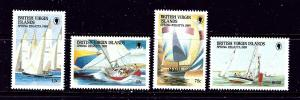 Virgin Is 631-34 MNH 1989 Yachts