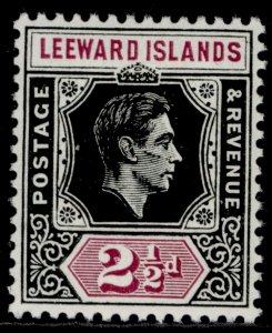 LEEWARD ISLANDS GVI SG106, 2½d black & purple, NH MINT.