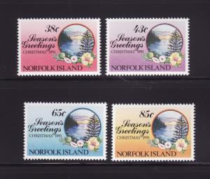 Norfolk Island 510-513 Set MNH Christmas
