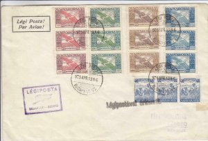 1925, Special Flt., AAMC-4, Budapest to Szeged, Hungary, See Remark (24274)