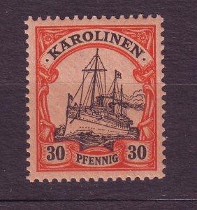 J23230 JL stamps 1901 caroline island mlh #12 ship