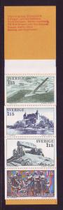 Sweden Sc 1252a 1978 Vastergotland  stamp bklt of 10 mint NH