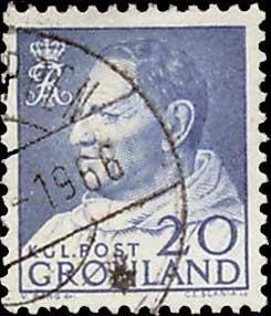 Greenland Scott 53 Used.