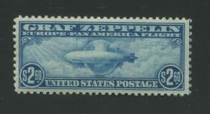 1930 United States Graf Zeppelin Air Mail Postage Stamp #C15 Mint Never Hinged