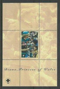 1998 Scouts Kyrgyzstan Princess Diana SS