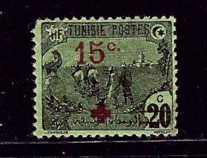 Tunisia B12 MH 1918 Surcharge    (ap2412)
