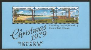 Norfolk Islands 253a 1979 Christmas s.s. NH