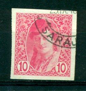 Bosnia & Herzegovina 1913 #P3 U SCV(2020)=$3.50