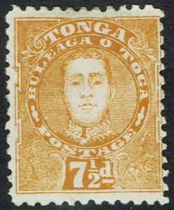TONGA 1895 KING 71/2D