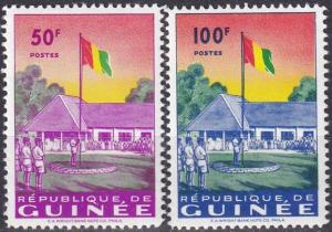 Guinea #188-9 MNH CV $3.10