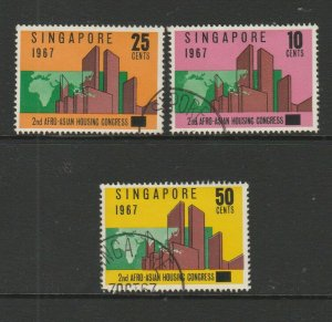 Singapore 1967 Housing congress FU SG 95/7