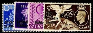 BAHRAIN SG63-66, COMPLETE SET, LH MINT.