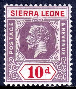 Sierra Leone - Scott #133 - MH - Pencil on reverse - SCV $4.00