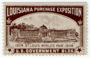 (I.B) US Cinderella : Louisiana Purchase Exposition (US Government)