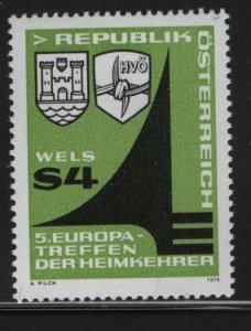 ISLE OF MAN, 1127, MNH, 1979, Arms of Wels returnees, emblem
