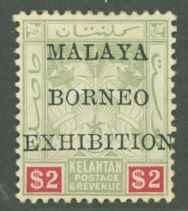 Malaya Kelantan 11a Mint VF NG