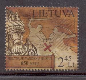 Lithuania Sc 981 2012 650th anniv Blue Waters stamp mint NH