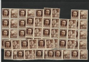 Italy No Gum Stamps Blocks ref R 18743
