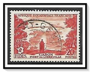 French Equatorial Africa #192 Fides Issued