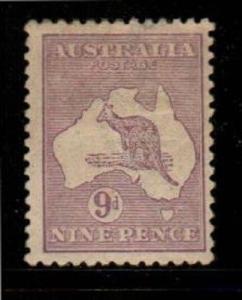 Australia Scott 50a Mint hinged (Catalog Value $82.50)