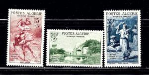 Algeria B91 93 MVLH 1957 set