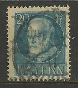GERMANY BAVARIA 102 VFU K253-2