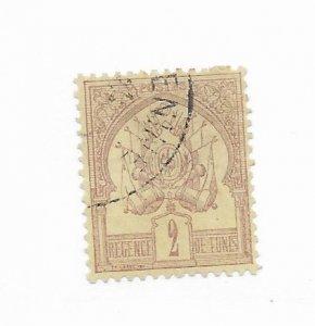 Tunisia #2 Used CAT VALUE $4.75