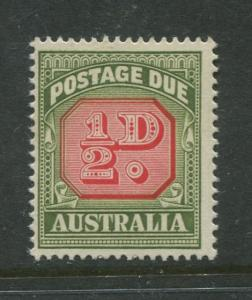 Australia - Scott J86 - Postage Due Issue -1958- No Wmk - MNH -Single 1/2d stamp