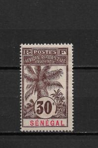 Senegal 1906, 30c, Scott # 65, VF Mint Hinged*OG (FC-6)