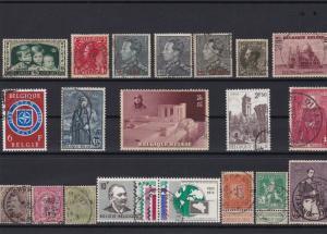 belgium stamps ref r12118