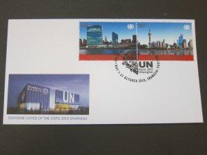 United Nations (NY) 2010 Sc 1009a Expo 2010 Shanghai FDC