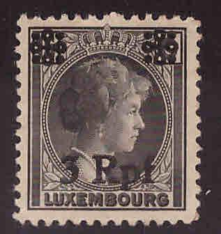 Luxembourg Scott N17 Occupation stamp MH*