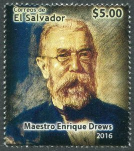 HERRICKSTAMP NEW ISSUES SALVADOR Enrique Drews