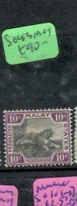 MALAYA  FMS (P1612B)   TIGER  10C    SG43      MOG