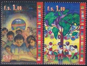 United Nations Geneva #490-1  MNH  CV $6.00  (V5111)