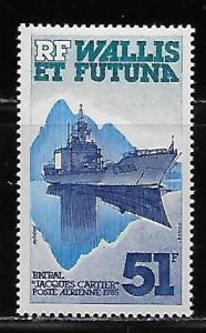 Wallis and Futuna Islands C143 Ship single MNH