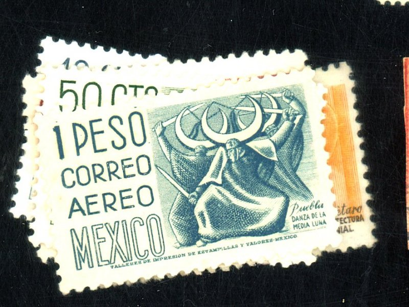 MEXICO #C192-6 MINT FVF OG LH/HR CAT $15