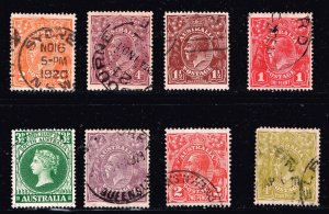 AUSTRALIA Stamp USED STAMPS COLLECTION LOT  #1