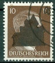 Russian Zone - Saxony Locals - Schwarzenberg - Michel 7